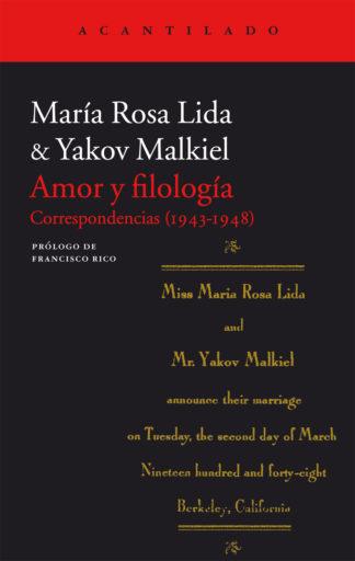 Amor y filología
