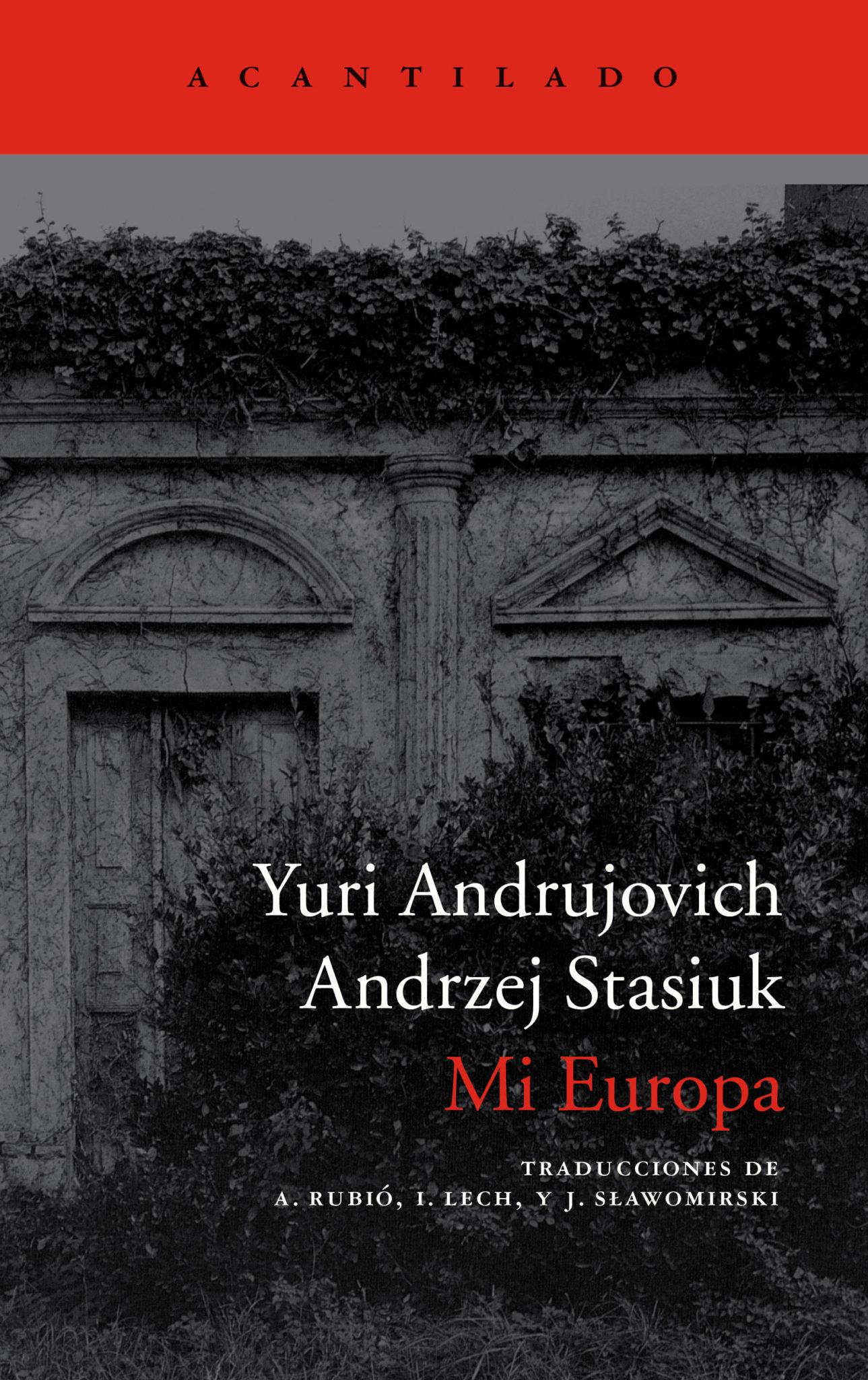 Mi Europa   Editorial Acantilado