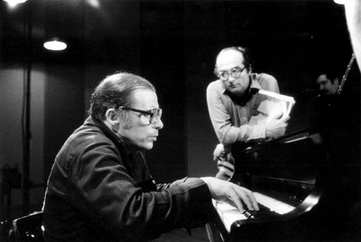 Glenn Gould y Bruno Monsaingeon