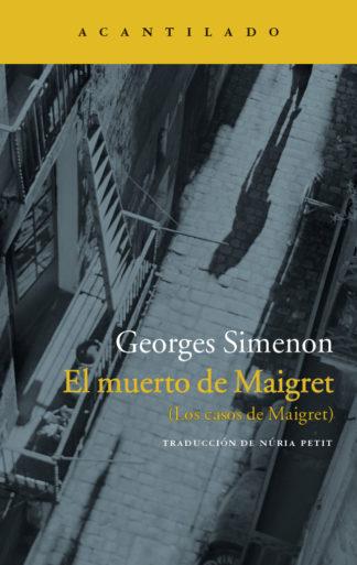 El muerto de Maigret