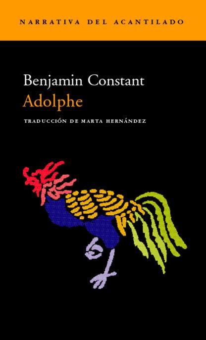 Cubierta del libro Adolphe