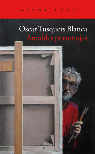 Cubierta del libro Amables personajes