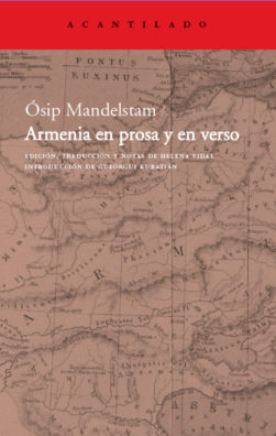 Cubierta del libro Armenia en prosa y en verso