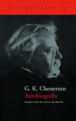 Cubierta del libro Autobiografía