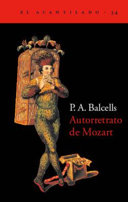 Cubierta del libro Autorretrato de Mozart