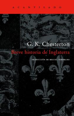 Cubierta del libro Breve historia de Inglaterra