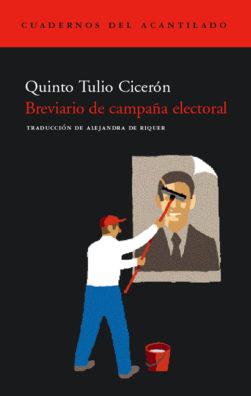 Cubierta del libro Breviario de campaña electoral
