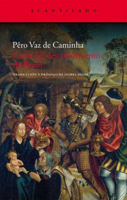 Cubierta del libro Carta del descubrimiento de Brasil