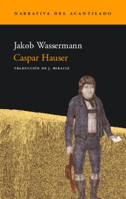 Cubierta del libro Caspar Hauser