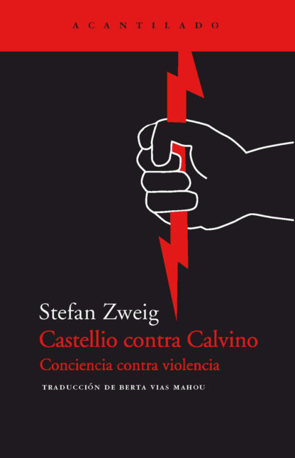 Cubierta del libro Castellio contra Calvino