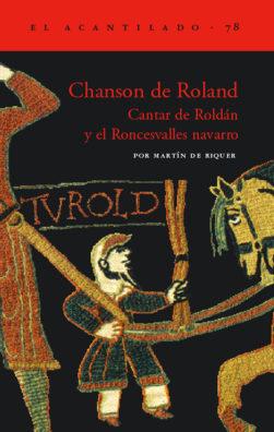 Cubierta del libro Chanson de Roland