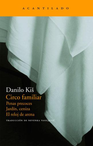 Cubierta del libro Circo familiar