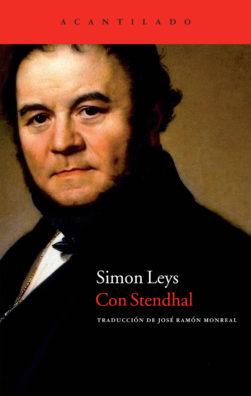 Cubierta del libro Con Stendhal