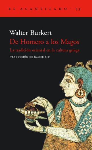 Cubierta del libro De Homero a los Magos
