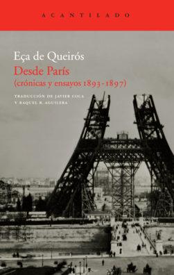Cubierta del libro Desde París