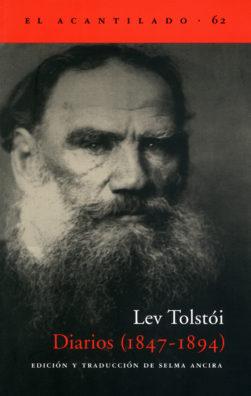 Cubierta del libro Diarios (1847-1894)