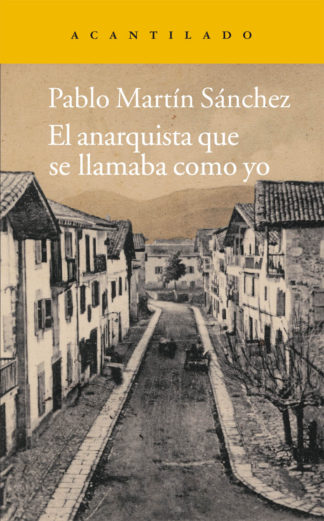 Cubierta del libro El anarquista que se llamaba como yo