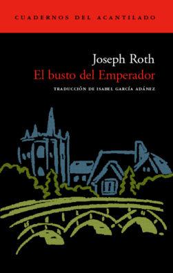 Cubierta del libro El busto del Emperador
