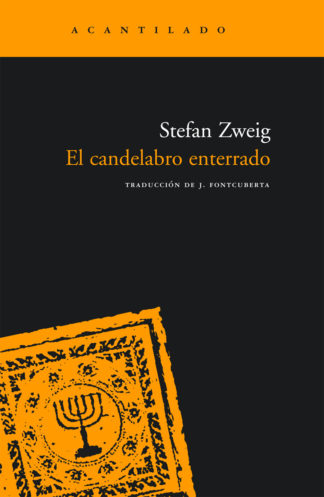 Cubierta del libro El candelabro enterrado