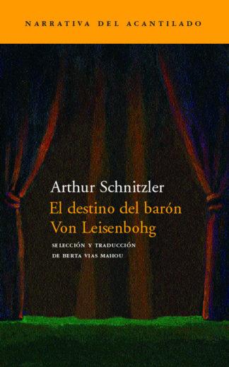 Cubierta del libro El destino del barón Von Leisenbohg