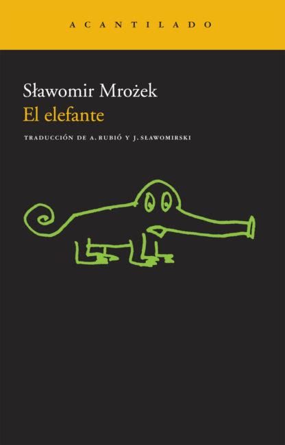 Cubierta del libro El elefante