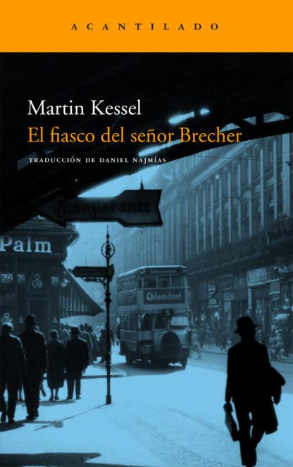 Cubierta del libro El fiasco del señor Brecher
