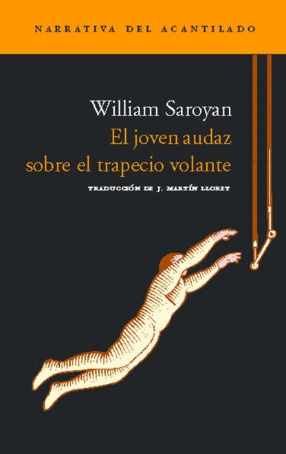 Cubierta del libro El joven audaz sobre el trapecio volante
