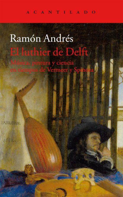 Cubierta del libro El luthier de Delft