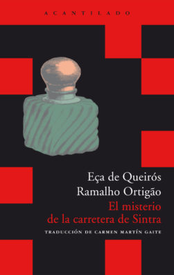 Cubierta del libro El misterio de la carretera de Sintra