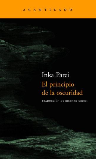 Cubierta del libro El principio de la oscuridad