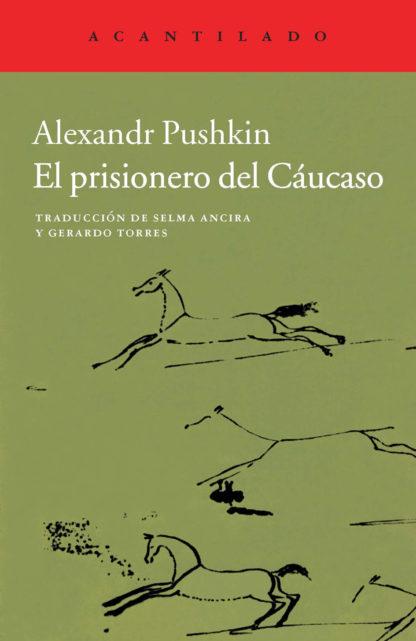 Cubierta del libro El prisionero del Cáucaso