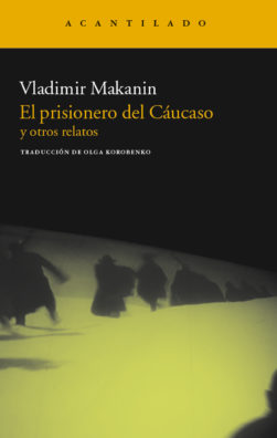 Cubierta del libro El prisionero del Cáucaso y otros relatos