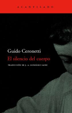 Cubierta del libro El silencio del cuerpo