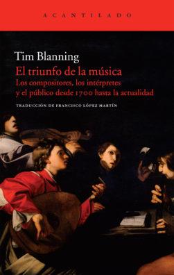 Cubierta del libro El triunfo de la música