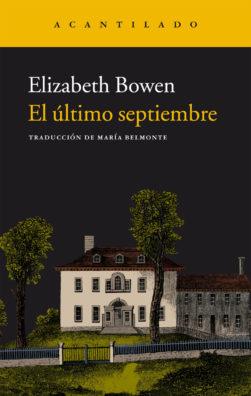 Cubierta del libro El último septiembre