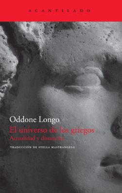 Cubierta del libro El universo de los griegos
