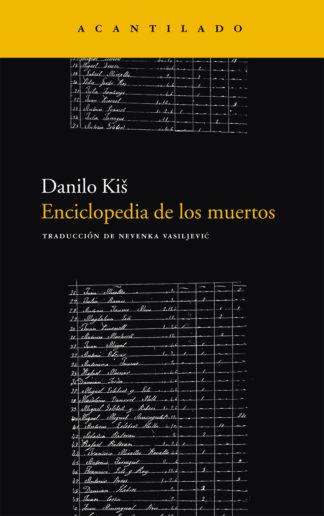 Cubierta del libro Enciclopedia de los muertos