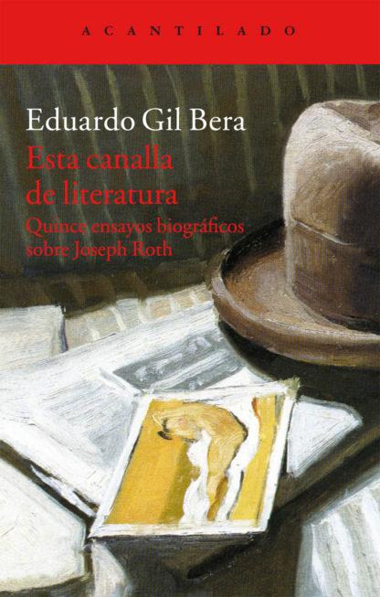 Cubierta del libro Esta canalla de literatura