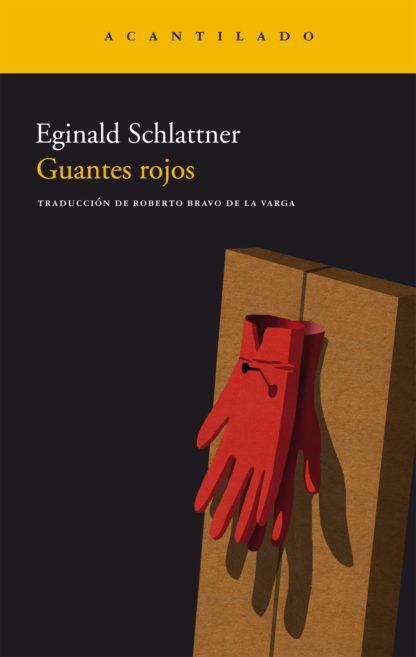 Cubierta del libro Guantes rojos