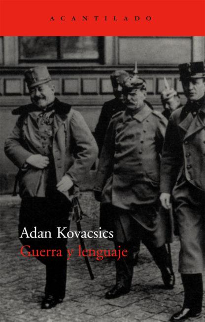 Cubierta del libro Guerra y lenguaje