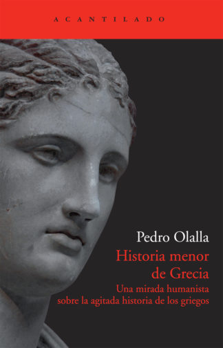 Cubierta del libro Historia menor de Grecia