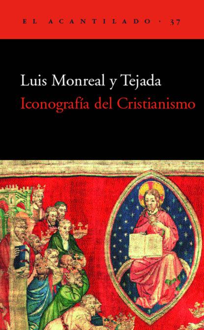 Cubierta del libro Iconografía del Cristianismo
