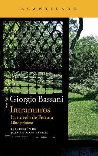 Cubierta del libro Intramuros