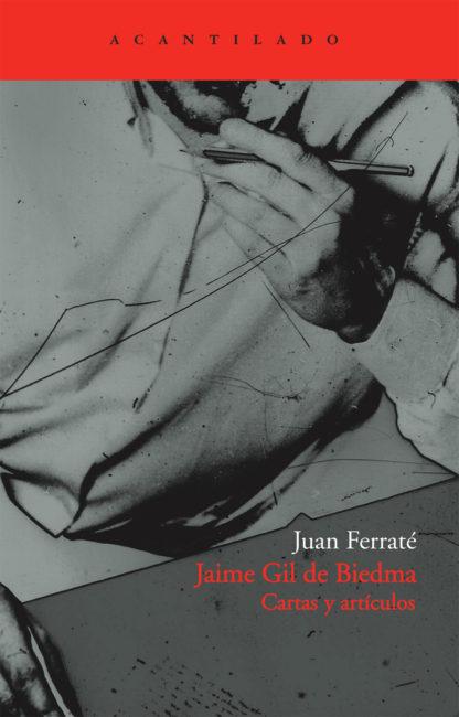Cubierta del libro Jaime Gil de Biedma