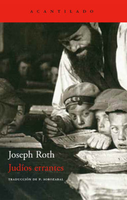 Cubierta del libro Judíos errantes