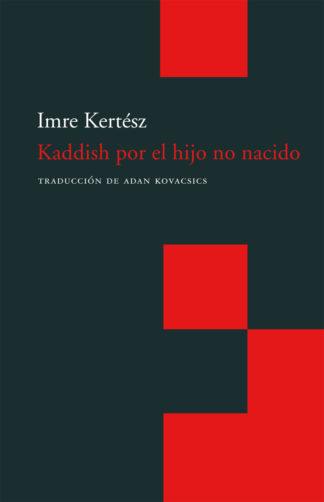 Cubierta del libro Kaddish por el hijo no nacido