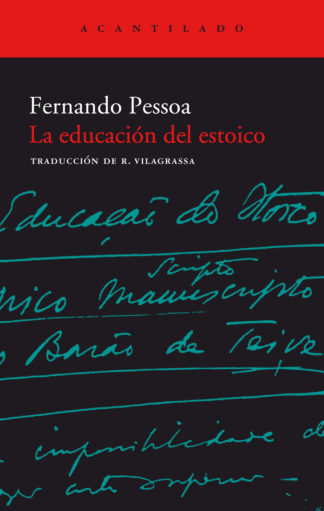 Cubierta del libro La educación del estoico