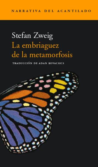 Cubierta del libro La embriaguez de la metamorfosis