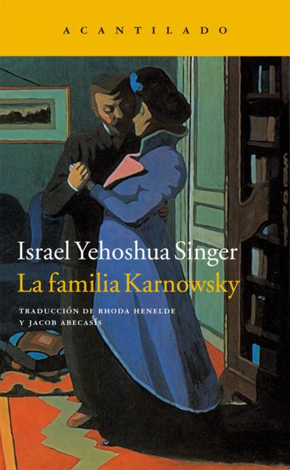 Cubierta del libro La familia Karnowsky