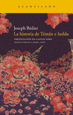 Cubierta del libro La historia de Tristán e Isolda